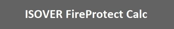 ISOVER FireProtect Calc
