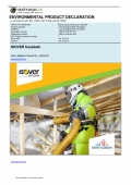 EPD: ISOVER InsulSafe