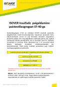 ISOVER InsulSafe puistevilla paigaldamine ST40-ga